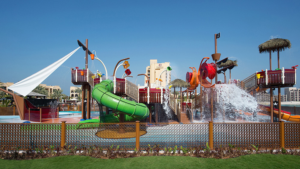 Water park at Doubletree by Hilton Resort Marjan Island