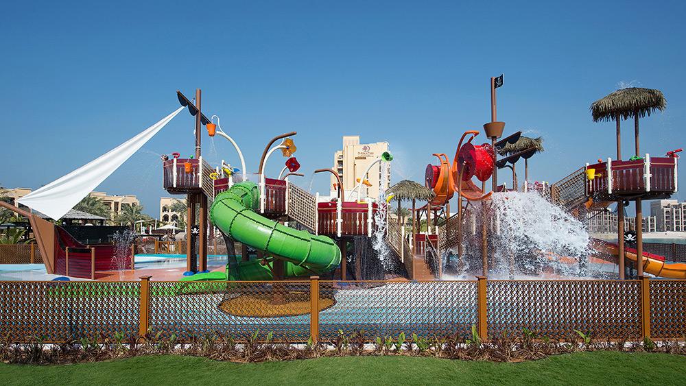 Water park at Doubletree by Hilton Resort Marjan Island