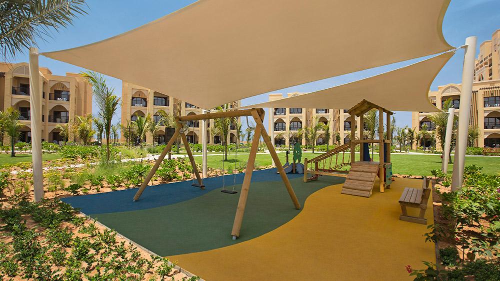 Children's playground at Doubletree by Hilton Resort Marjan Island