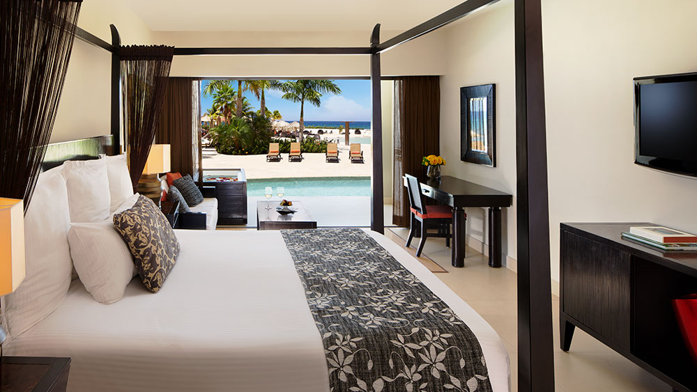 Preferred Club Junior Suite Swim-Out at the Secrets Wild Orchid Montego Bay