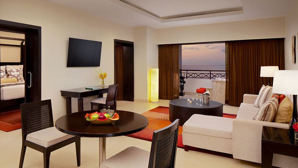 Preferred Club Master Suite Ocean Front at the Secrets Wild Orchid Montego Bay