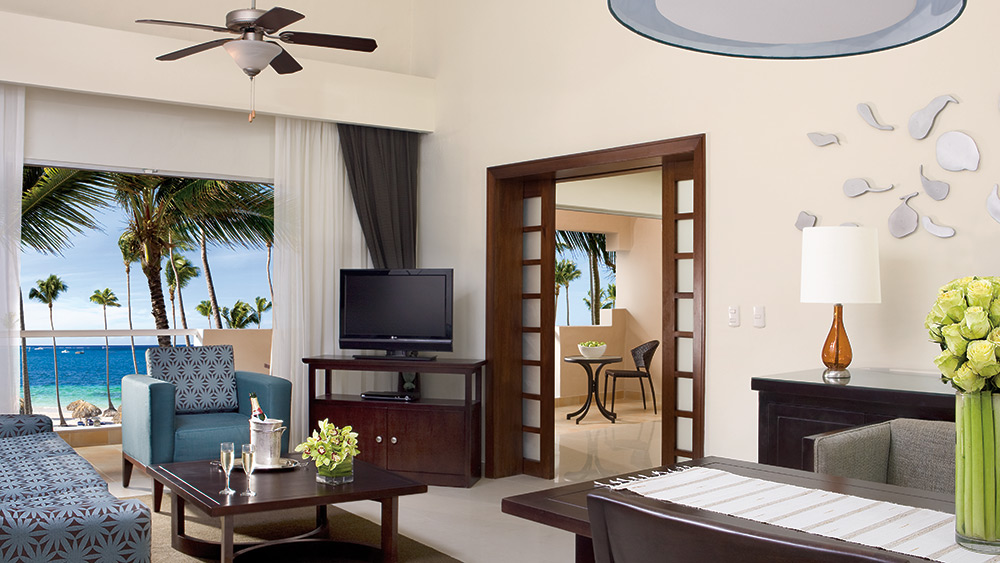 Presidential Suite at the Dreams Palm Beach Punta Cana