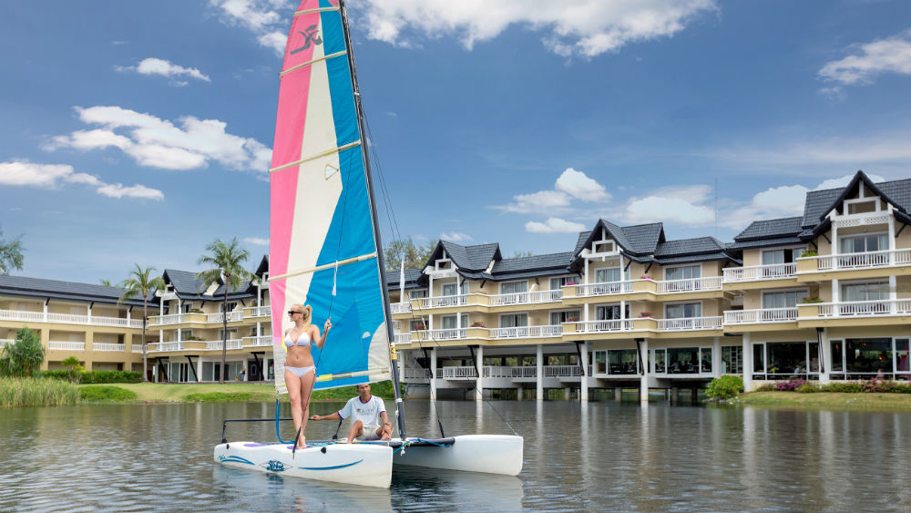 Sailing at the Angsana Laguna Phuket