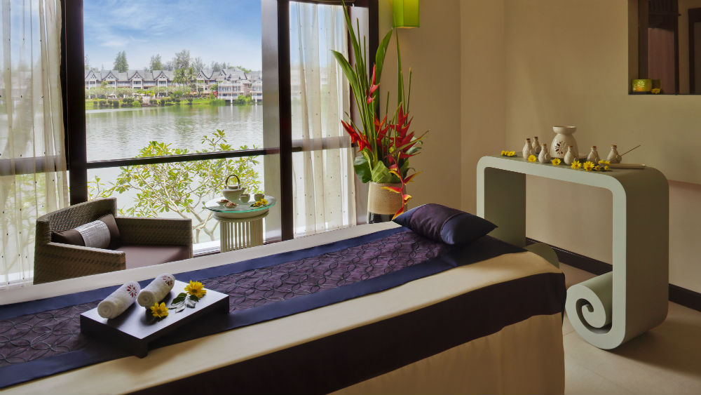 Spa Room at the Angsana Laguna Phuket