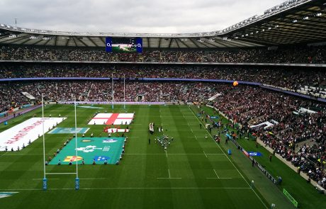 Stadium for the rugby world cup