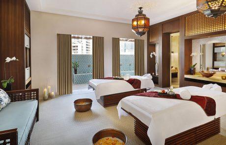 Treatment room at at Ritz-Carlton Spa
