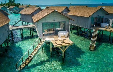 Water Villa at the Centara Ras Fushi Resort and Spa Maldives