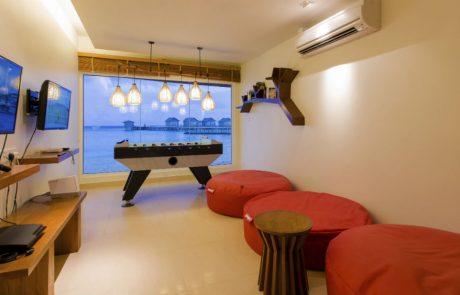 The e-zone at the Centara Ras Fushi Resort and Spa Maldives