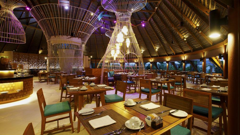 Oceans restaurant at the Centara Ras Fushi Resort and Spa Maldives