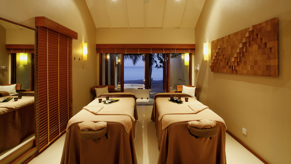 Spa cenvaree at the Centara Ras Fushi Resort and Spa Maldives