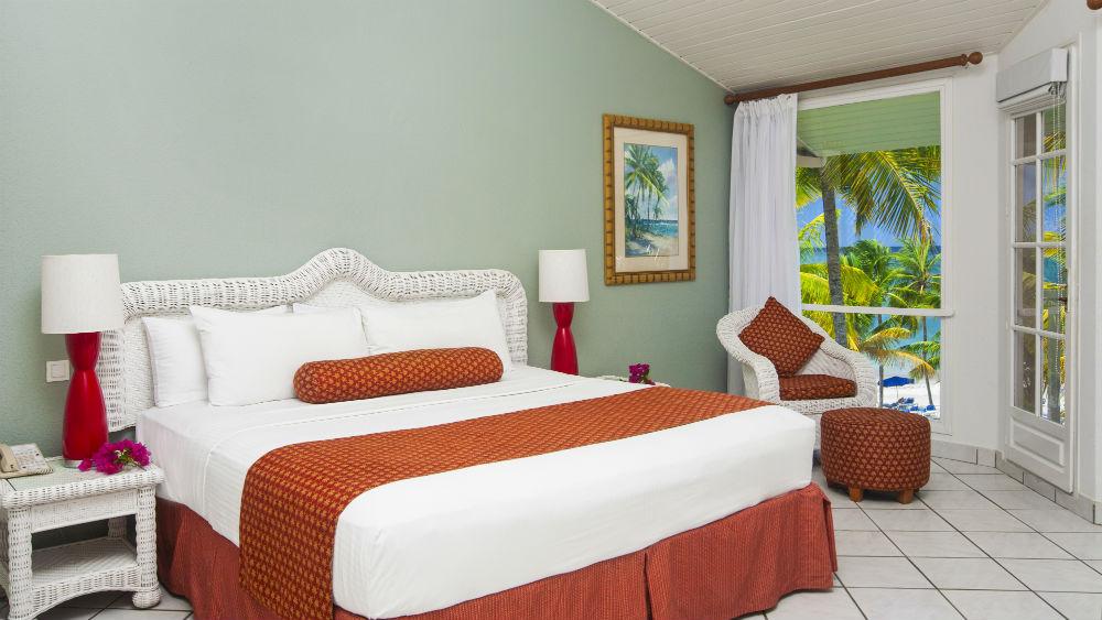 Beach Front rooms at the St James Club Morgan Bay