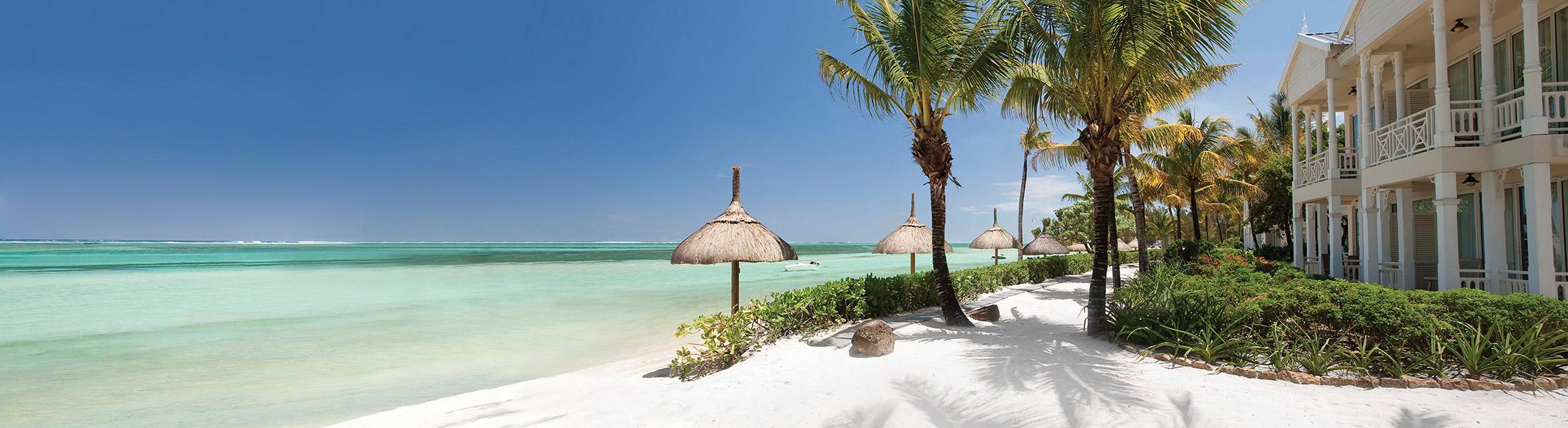 Beachfront suites at Heritage Le Telfair Mauritius