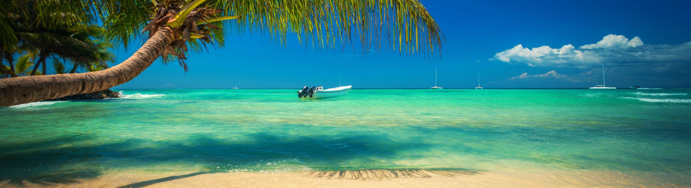 Beach in Dominican Republic Punta Cana