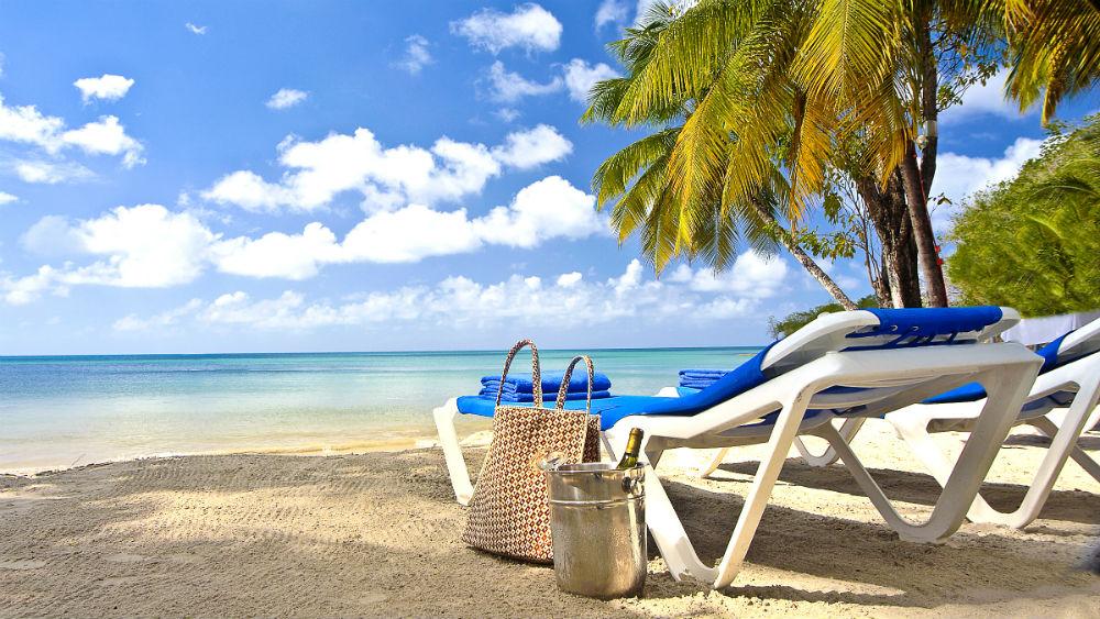 Beaches Pools Beach Lounger - St James Club Morgan Bay