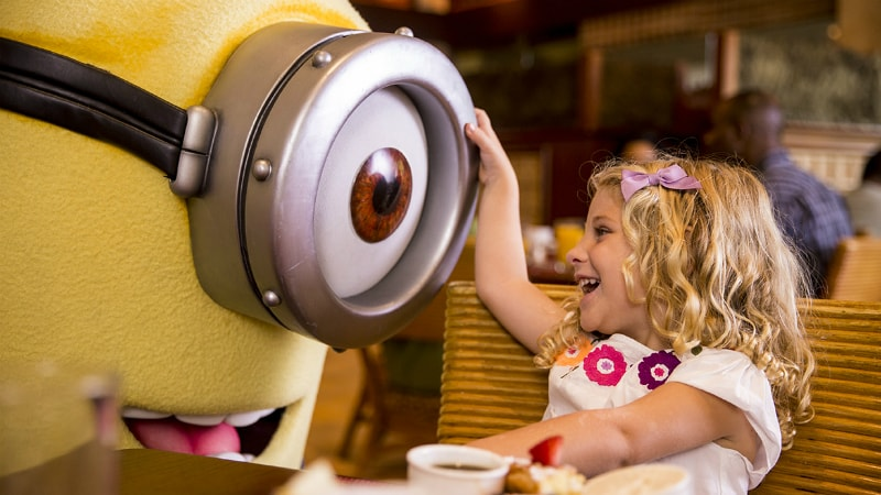 Minion Character Encounters at the Loews Portofino Bay, Orlando