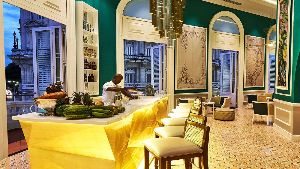Constante Bar Tender at the Gran Hotel Manzana Kempinski La Habana