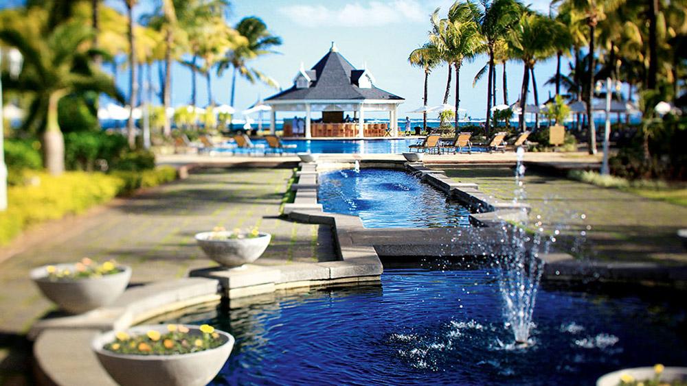 Exterior of the Heritage Le Telfair Mauritius