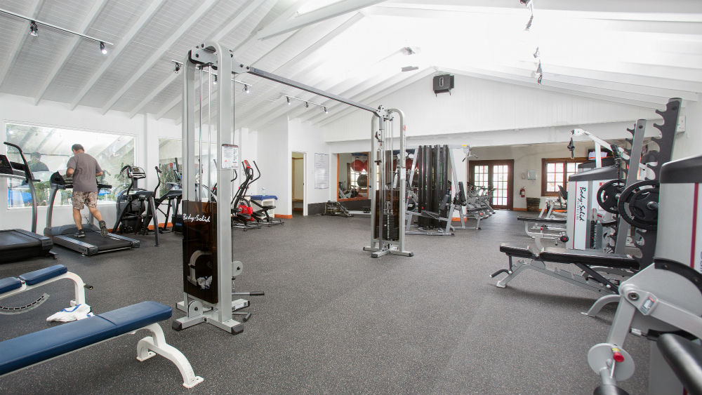 Fitness Center at the St James Club Morgan Bay