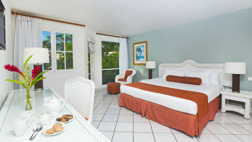 Garden view Rooms at the St James Club Morgan Bay