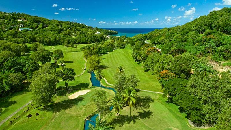 Golf Course - Sandals Halcyon Beach, St Lucia