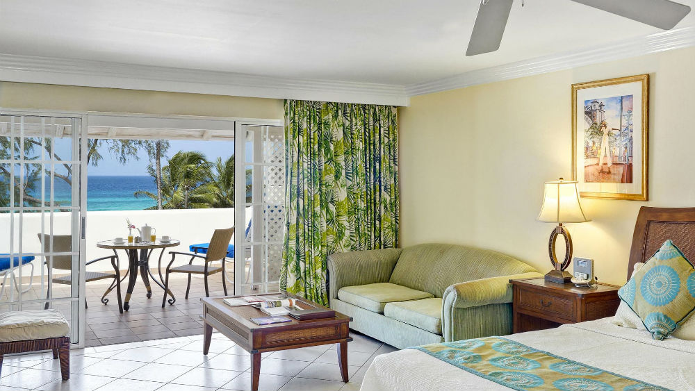 Junior Suite Deluxe Ocean View at the Turtle Beach by Elegant Hotels