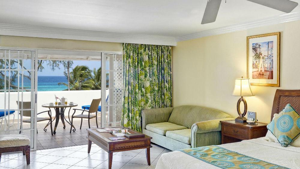 Junior Suite Deluxe Ocean View at the Turtle Beach by Elegant Hotels