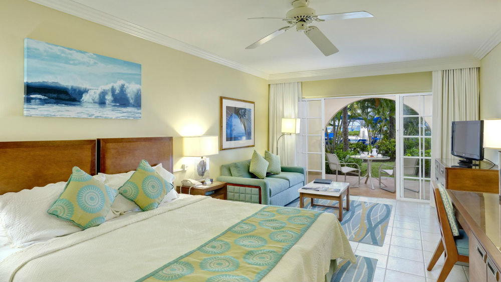 Junior Suite PoolGarden View at the Turtle Beach by Elegant Hotels
