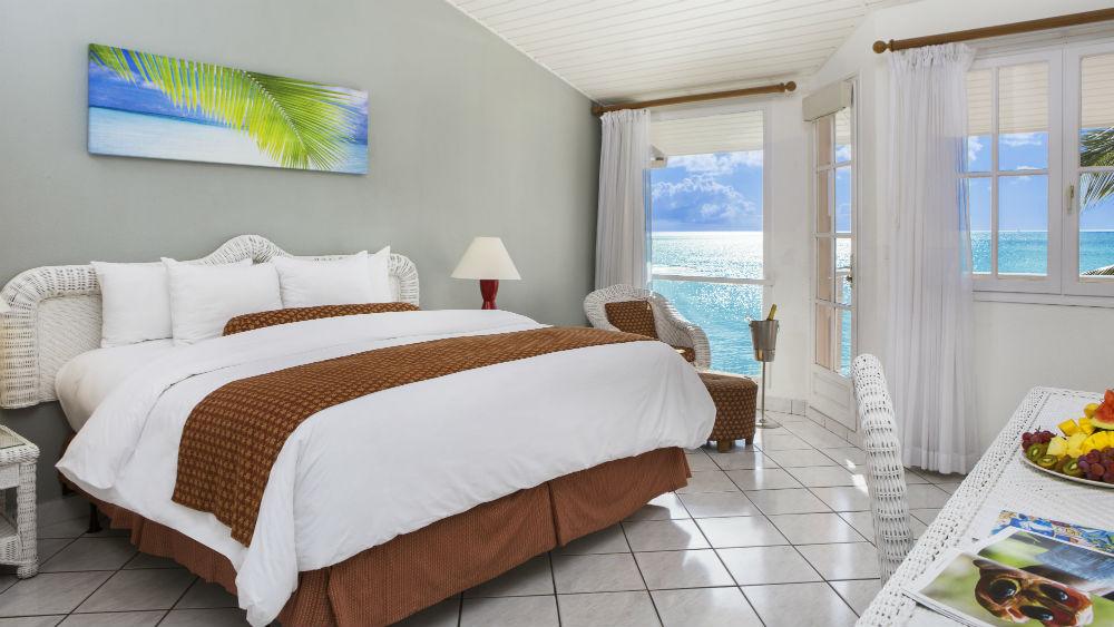 Ocean view Rooms at the St James Club Morgan Bay