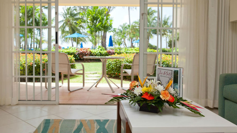 One BR Suite PoolGarden View at the Turtle Beach by Elegant Hotels