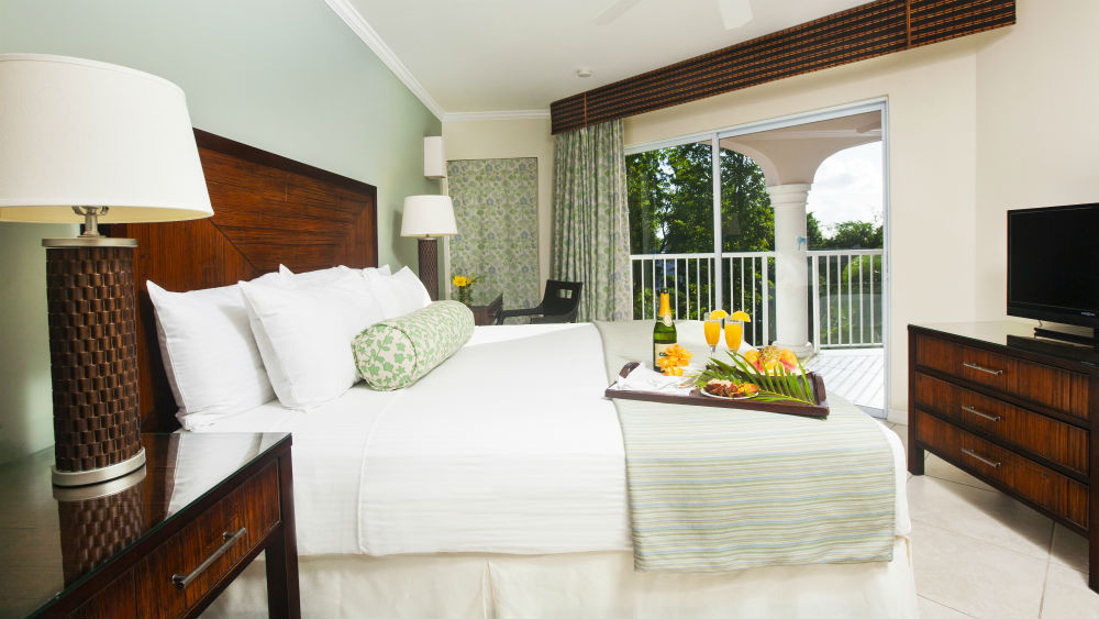 One Bedroom Garden view Spa Suites at the St James Club Morgan Bay