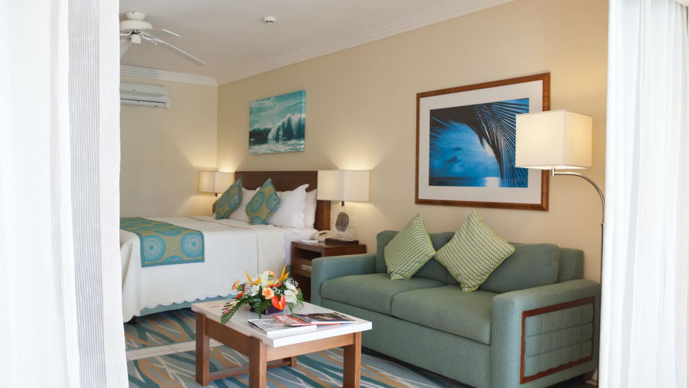 One Bedroom Ocean View Suite at the Turtle Beach by Elegant Hotels