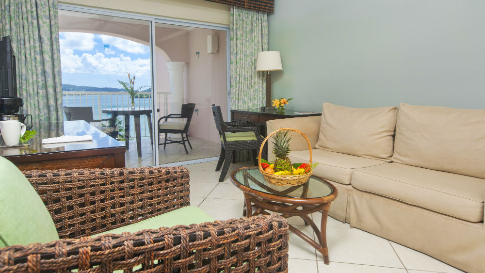One Bedroom Oceanview Suites at the St James Club Morgan Bay