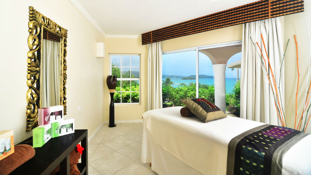 Spa Treatment Room at the St James Club Morgan Bay