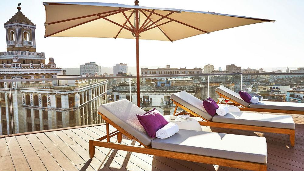 Sun Terrace Spa at the Gran Hotel Manzana Kempinski La Habana