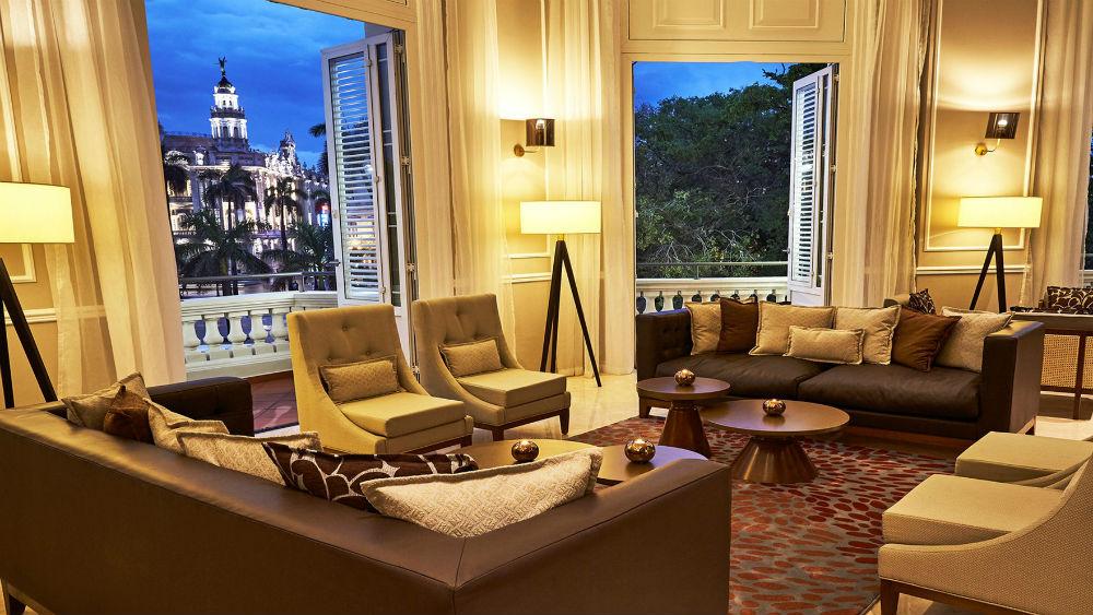 Tobacco Lounge Evocacion at the Gran Hotel Manzana Kempinski La Habana