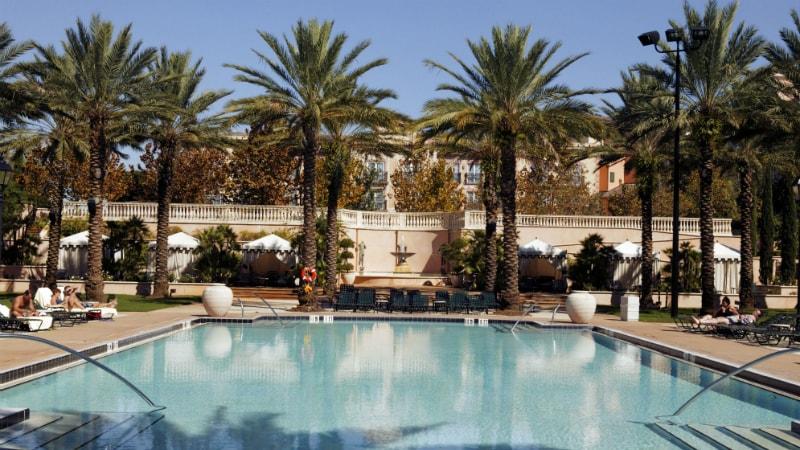 Villa Pool at the Loews Portofino Bay, Orlando