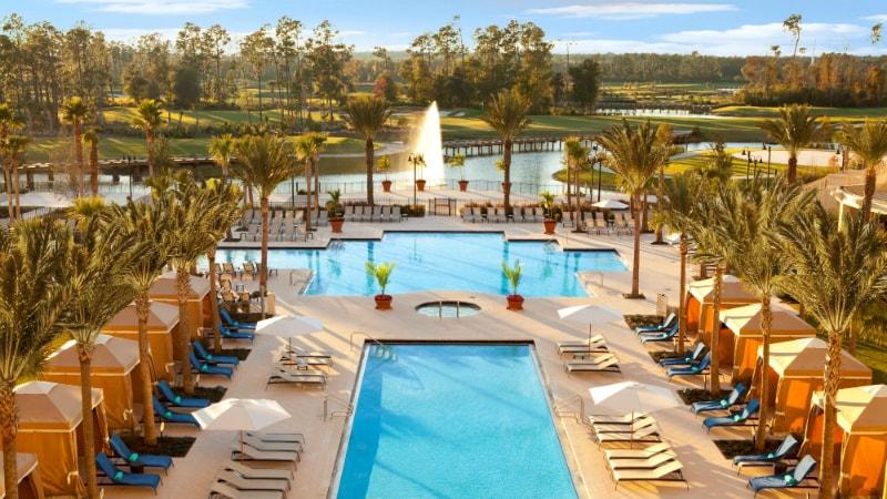 Orlando Pool - Waldorf Astoria, Orlando