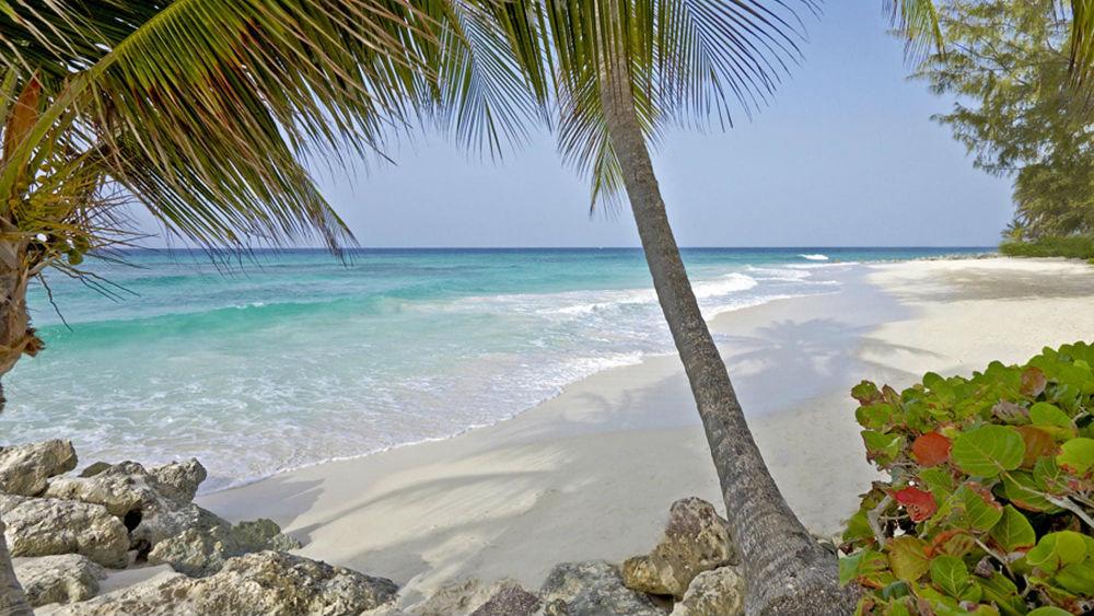 Caribbean ocean at the Turtle Beach by Elegant Hotels