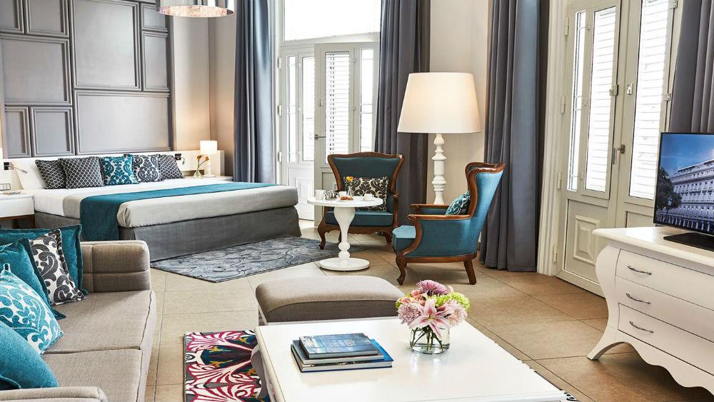 junior suite constante at the Gran Hotel Manzana Kempinski La Habana