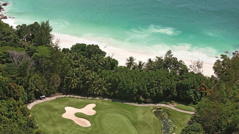 Constance Lemuria Seychelles golf course