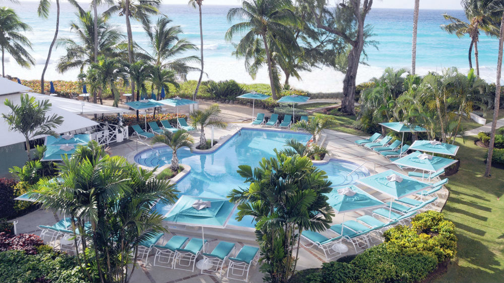 Main pool at the Turtle Beach by Elegant Hotels