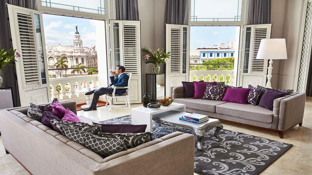 presidential suite at the Gran Hotel Manzana Kempinski La Habana
