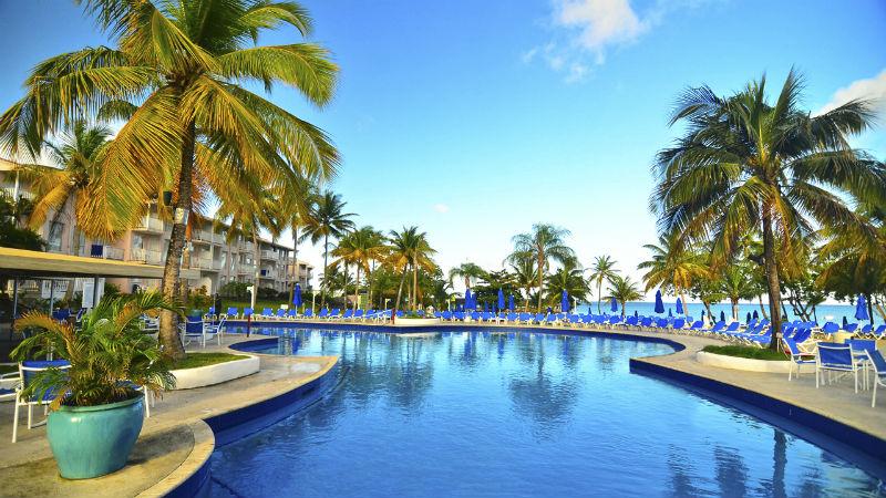 swimming pool St. James's Club Morgan Bay, St Lucia