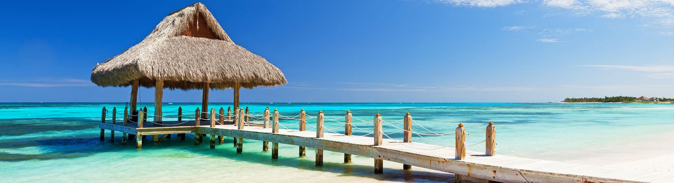 white sandy beach in Cap Cana Dominican Republic