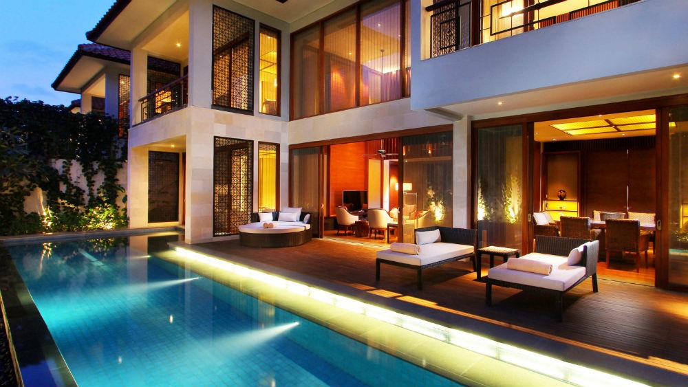 3 bedroom pool villa at Fairmont Sanur Beach Bali