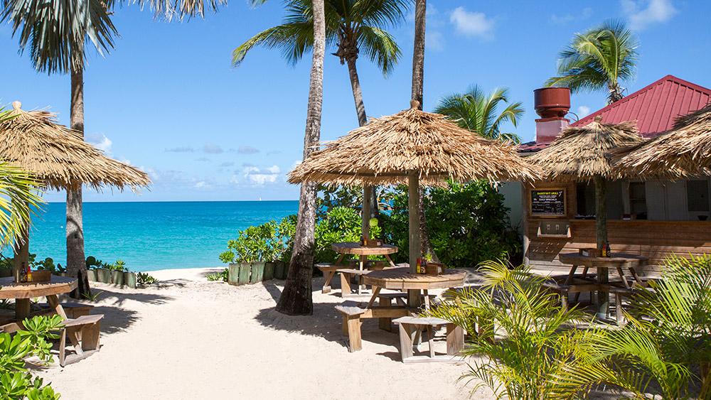 Barefoot restaurant at Galley Bay Resort & Spa