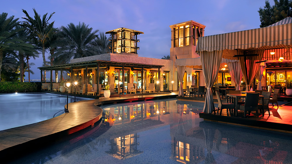 Pool at Eauzone at Arabian Court at One&Only Royal Mirage
