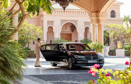 Valet chauffeur service at Manor House at One&Only The Palm
