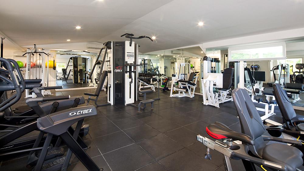 fitnees centre at Galley Bay Resort & Spa