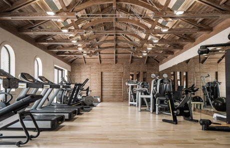 Fitness equipment at Manor House at One&Only The Palm